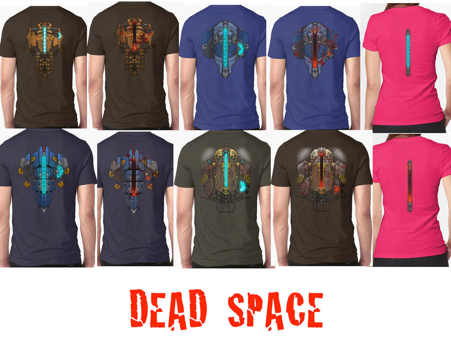 Shirt Catalogue 3 Dead Space Edition by PRATT-FACE