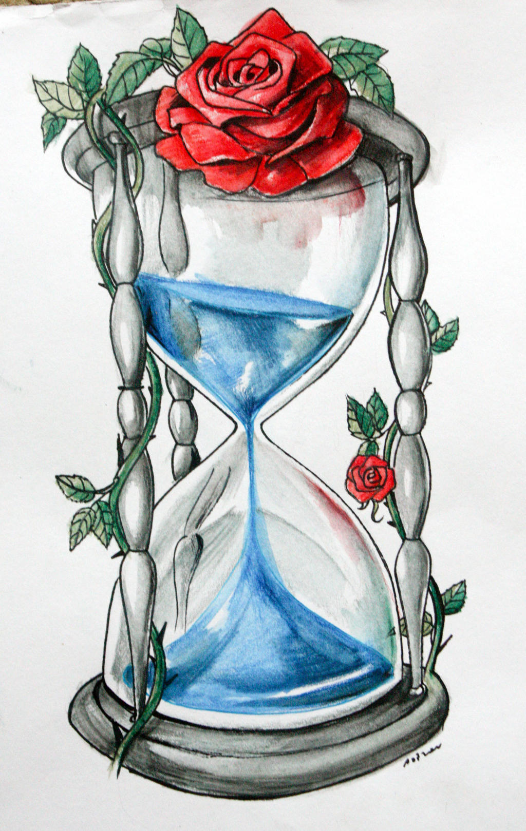 blue blood hourglass by artofasthar on deviantart. Black Bedroom Furniture Sets. Home Design Ideas