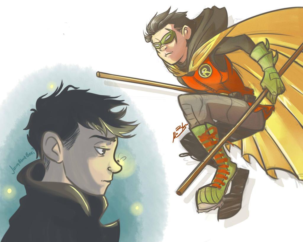 Damian Wayne - Son of Batman by BabyPhat268