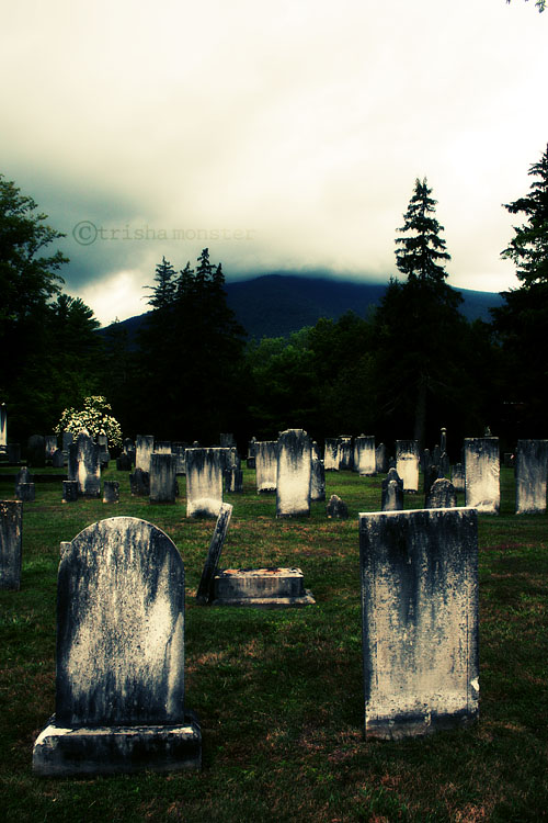 graveyard by TrishaMonsterr