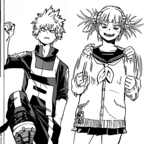Could Bakugou and Toga actually be siblings?! by HNC1997 on DeviantArt