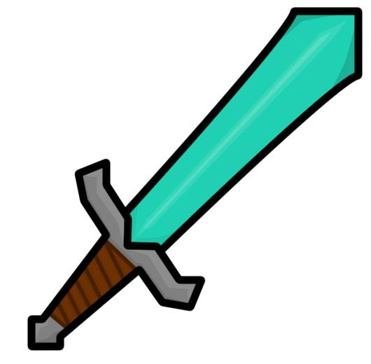 minecraft sword clipart - photo #33