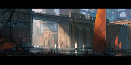 Ships by Kvenh