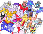 Justice Friends Assemble Attack