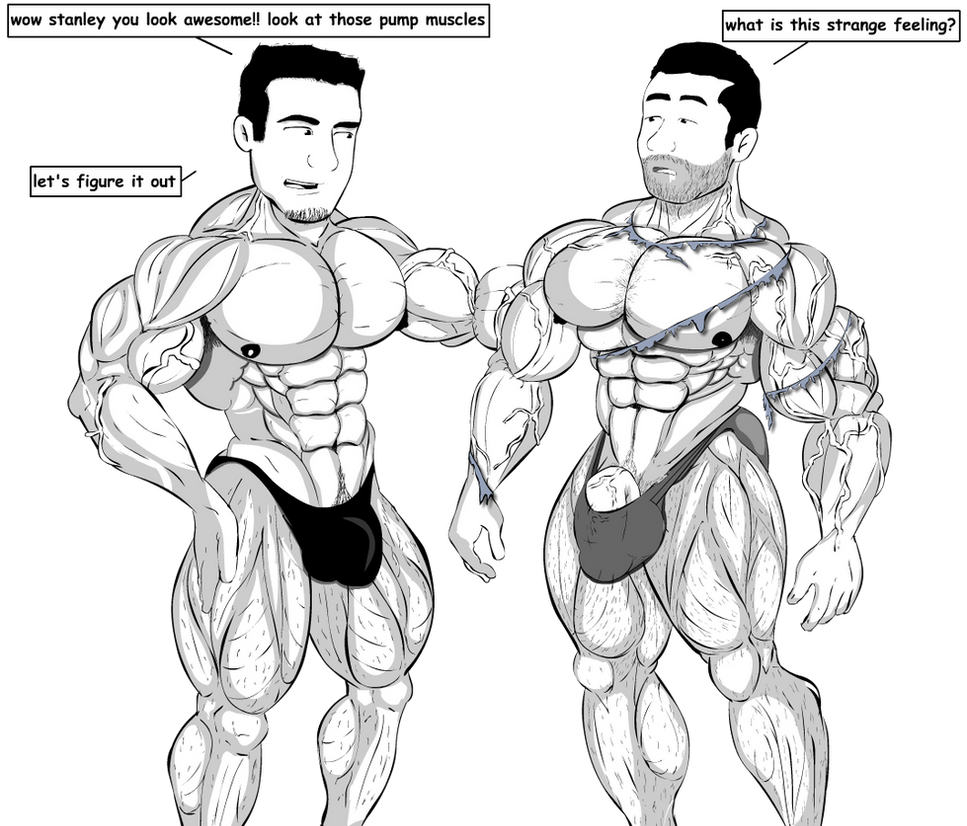Amigos Muscle Growth 2 by Salvador503 on DeviantArt