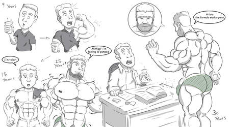 Sean Muscle growth