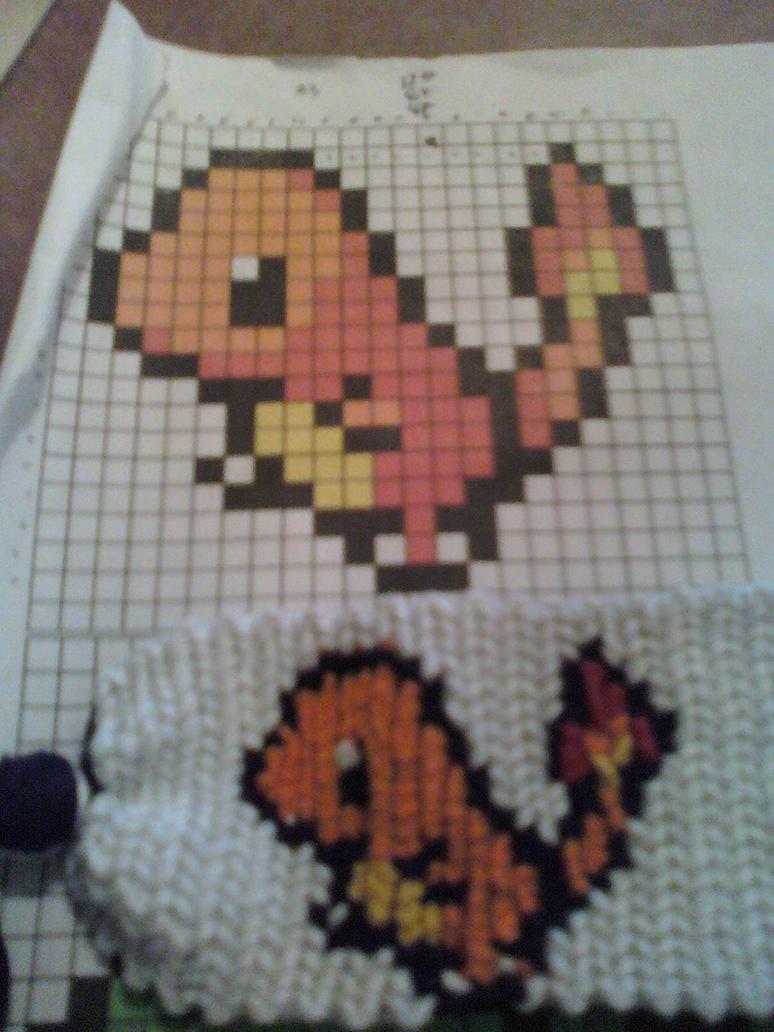 Charmander Pokemon Bracelet By X13supernova13x
