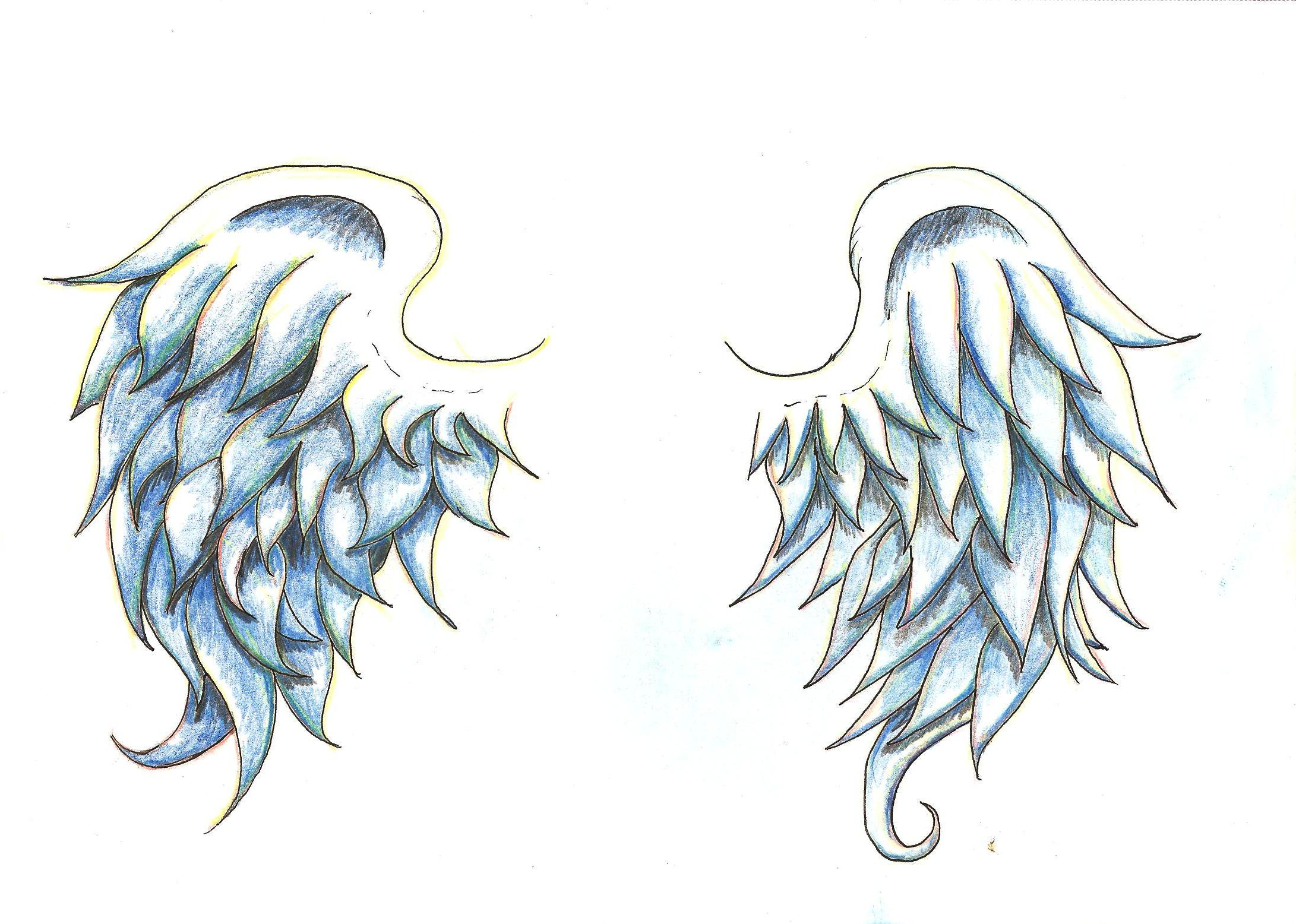 wing tattoos and designs