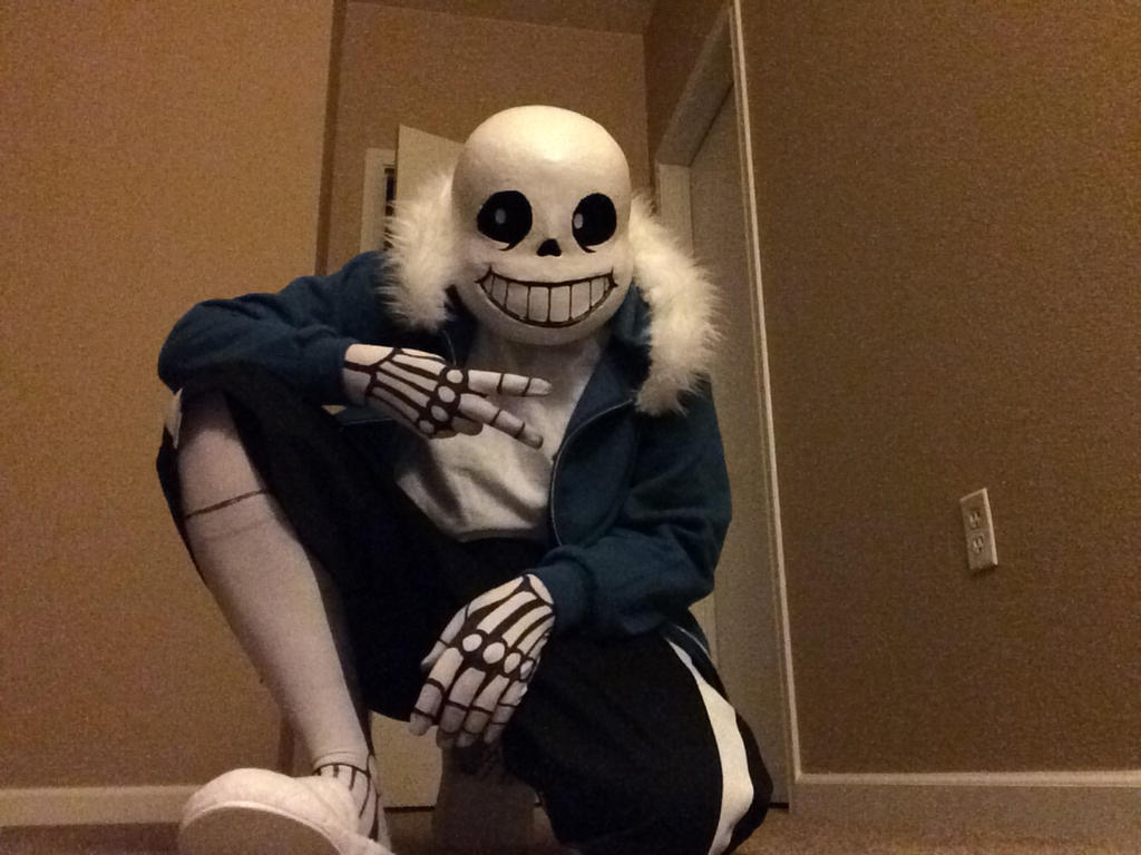 sans cosplay wip by attackgoose on deviantart