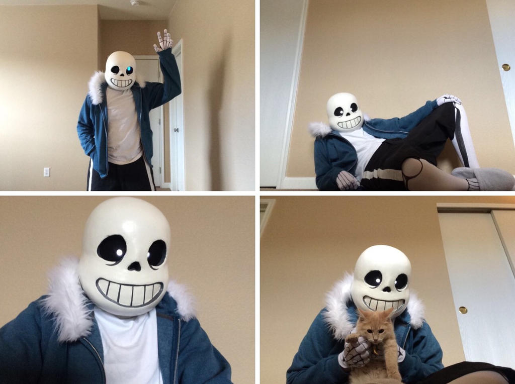 Sans Cosplay by AttackGoose