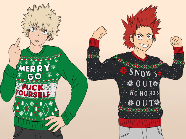 Christmas Sweaters by AttackGoose