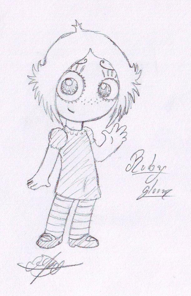 Ruby Gloom Para Dibujar | www.imagenesmy.com