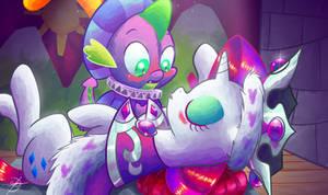 Spike kiss