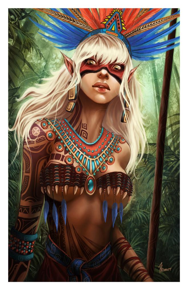 Tribal Elf by HELMUTTT