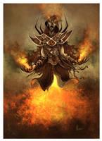 Fire Mage by HELMUTTT