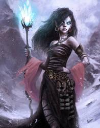 Goth Witch by HELMUTTT