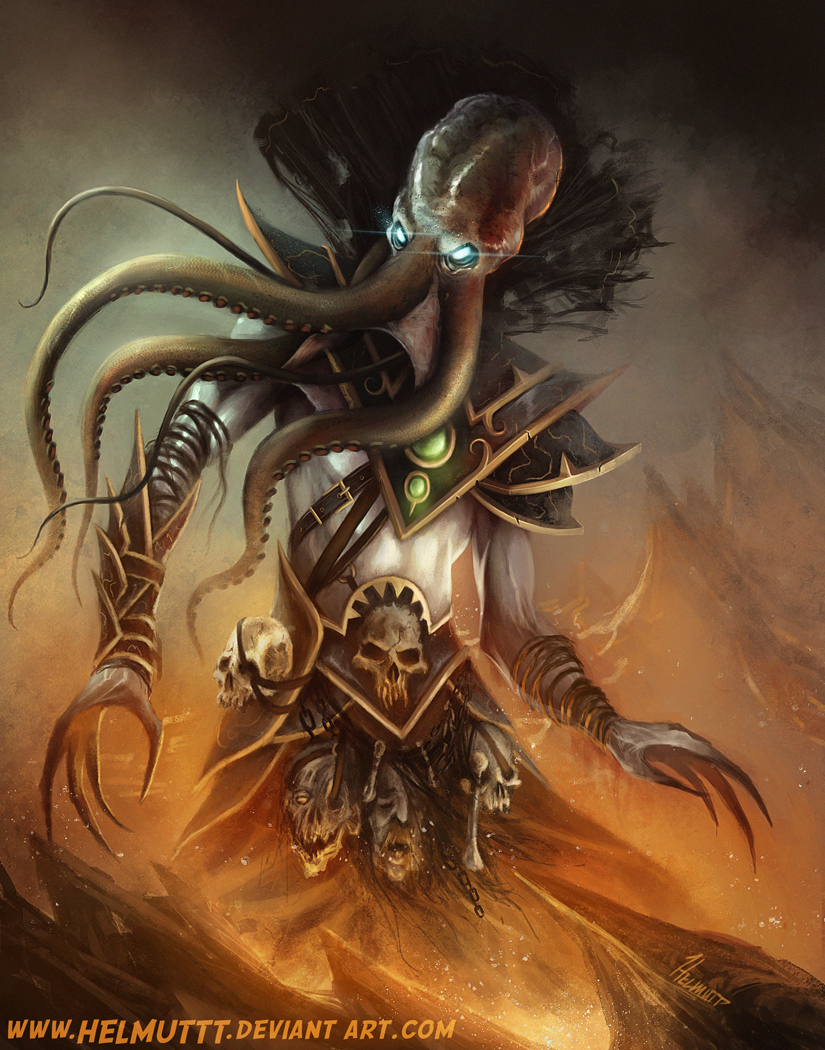 Illithid by HELMUTTT