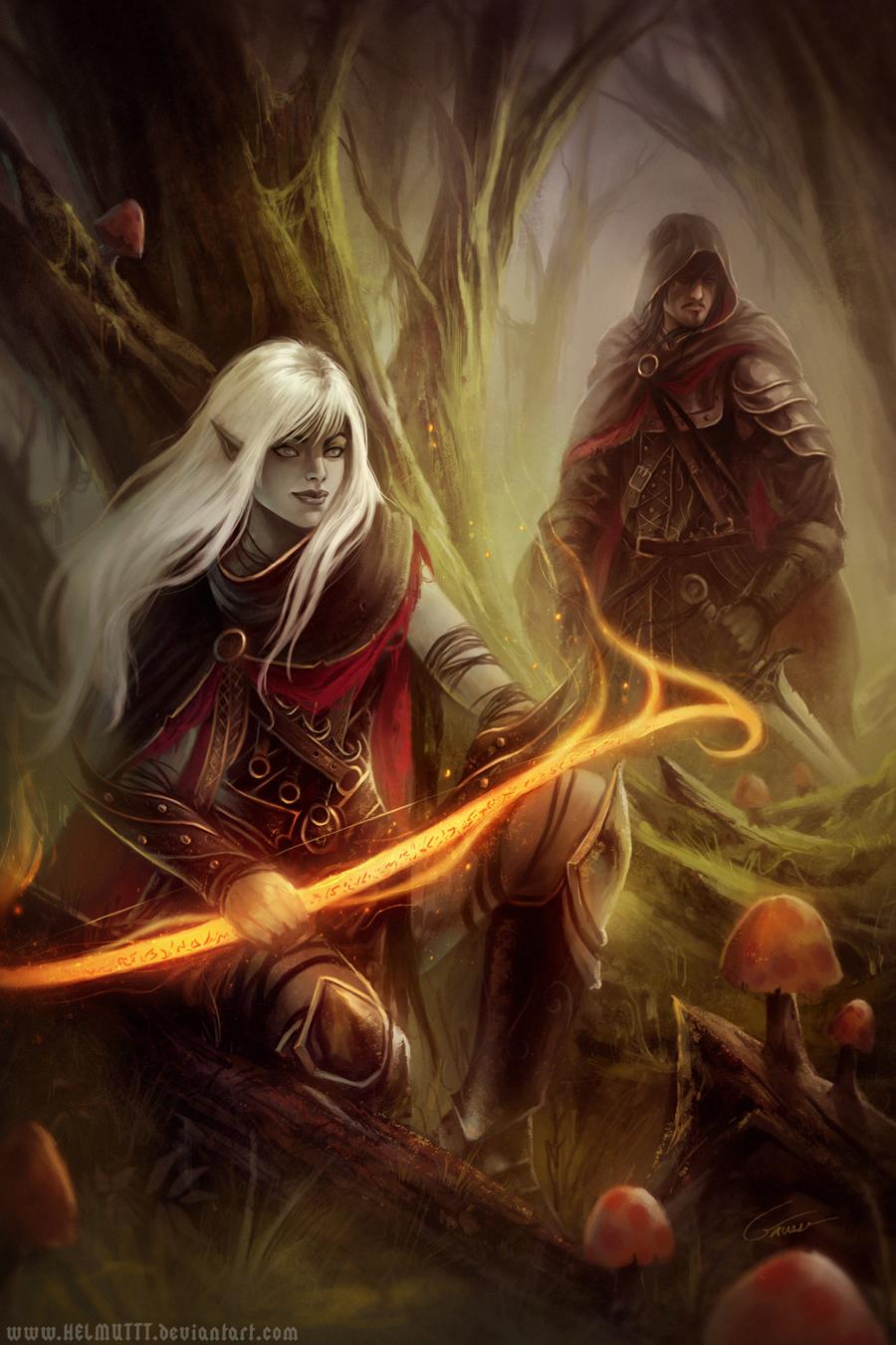 Dark Woods 2 by HELMUTTT