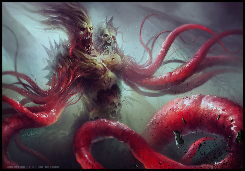 Vein Monster by HELMUTTT