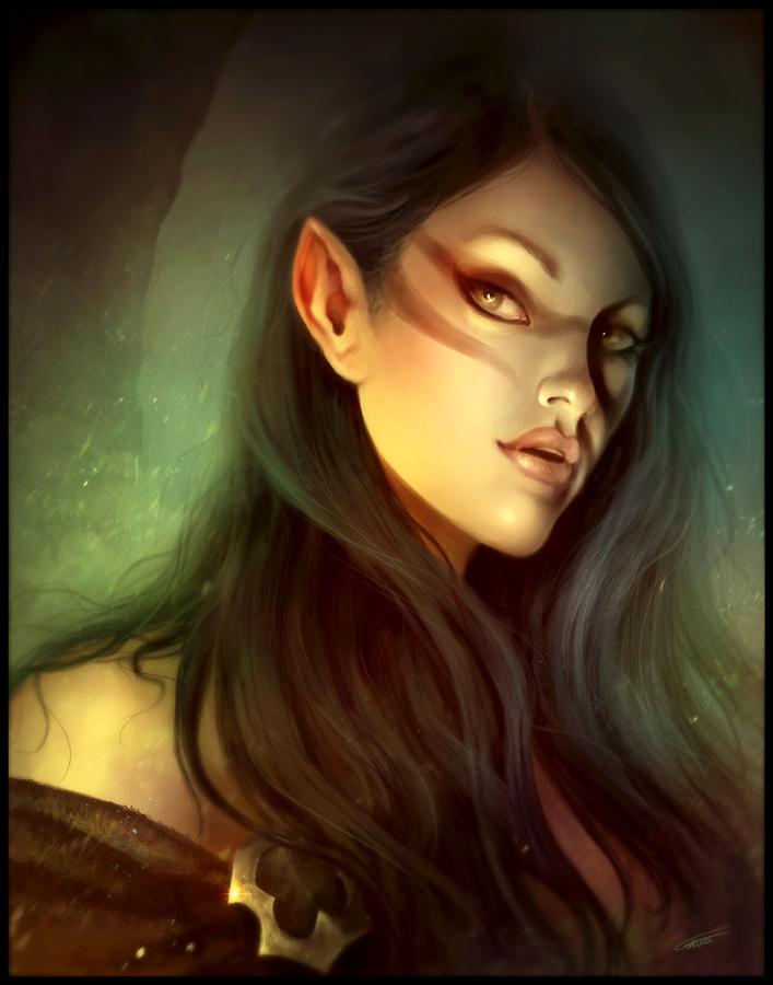 Beautiful Naked Elf Women 42