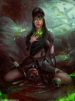 Morgana le Fay by Helmutt by HELMUTTT