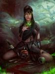 Morgana le Fay by Helmutt