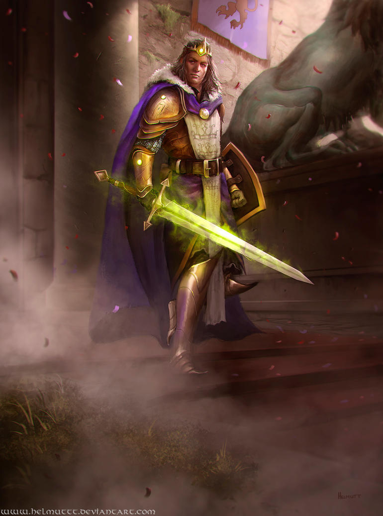 Albion's Legacy King Arthur by HELMUTTT