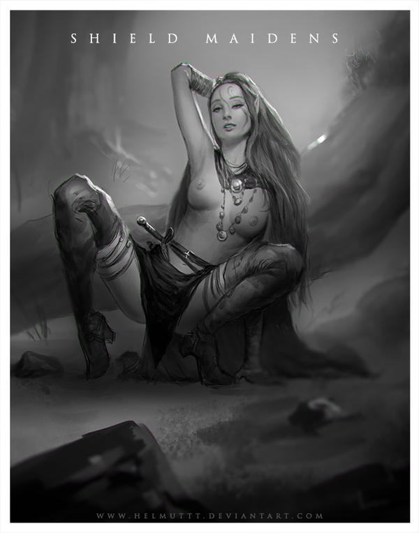 Shield Maidens 1 by HELMUTTT