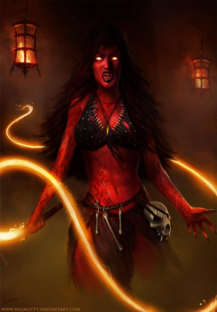 Turik and the Blood Queen by HELMUTTT