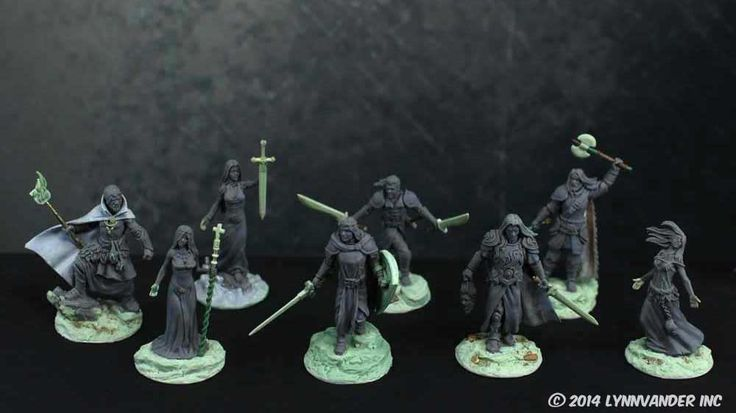 Albions Legacy Mini figs by HELMUTTT