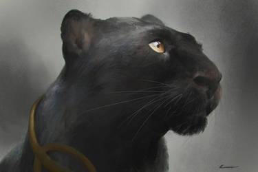 Black-panther by HELMUTTT