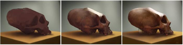 Skull Process by HELMUTTT