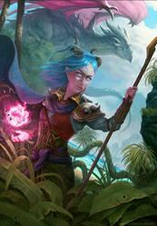 Isle Of Dragons by HELMUTTT