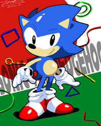 Sonic Maniac by Sparky-94