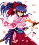 Sakura Wars - Shinguji Sakura by iforher