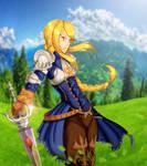 Final Fantasy Tactics - Agrias Oaks