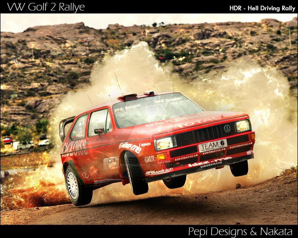 VW Golf MK1 H.D.R. Rallye by PepiDesigns