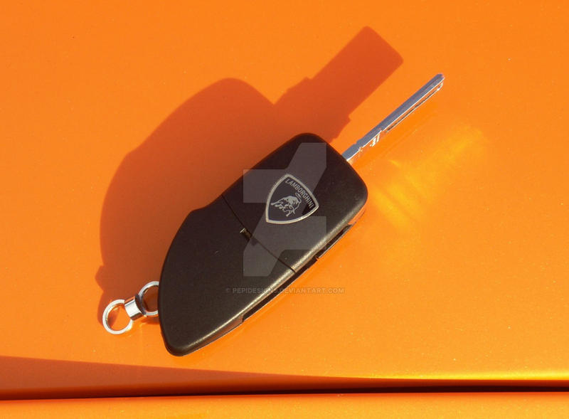 The Magic Lamborghini Key By Pepidesigns On Deviantart