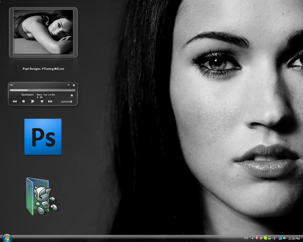 Desktop August '09 by PepiDesigns