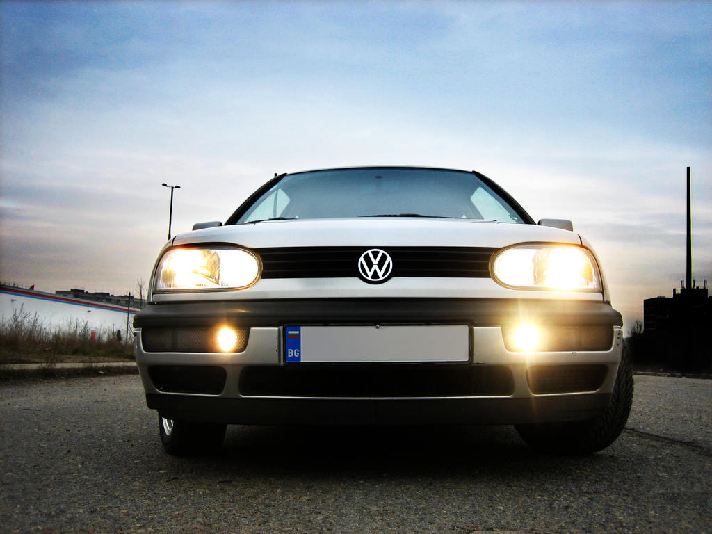 VW Golf 3 - Lights and Halogen by PepiDesigns
