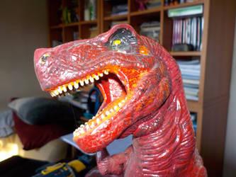 Devil Dinosaur! by SevenSidedCube7
