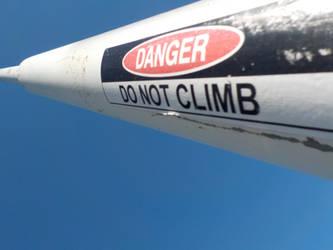 Do Not Climb by SevenSidedCube7