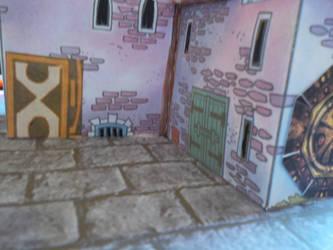 Castle Cobbar Courtyard by SevenSidedCube7