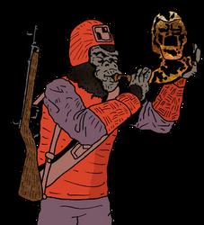 Ape Bigleboy by SevenSidedCube7