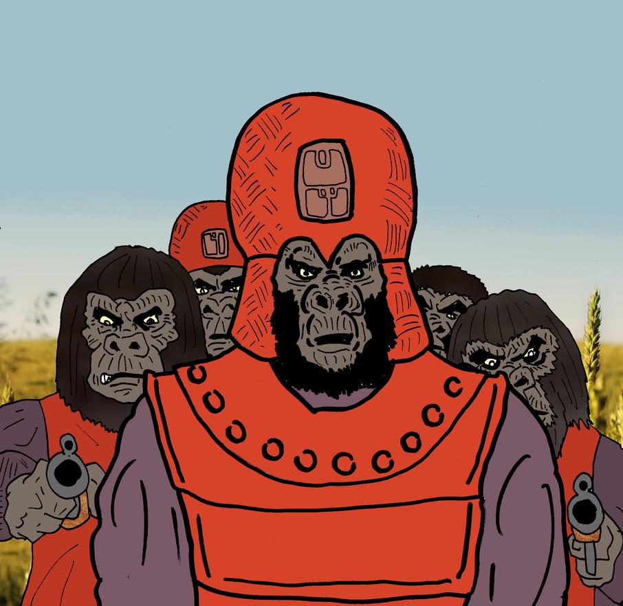 Murko And His Marauders by SevenSidedCube7
