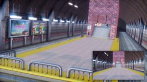 [MMD Stage DL] Subway Station
