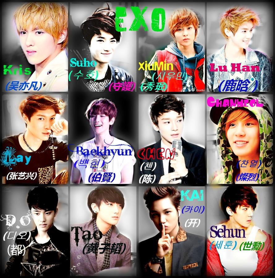 exo wallpaper by ak1za on deviantart