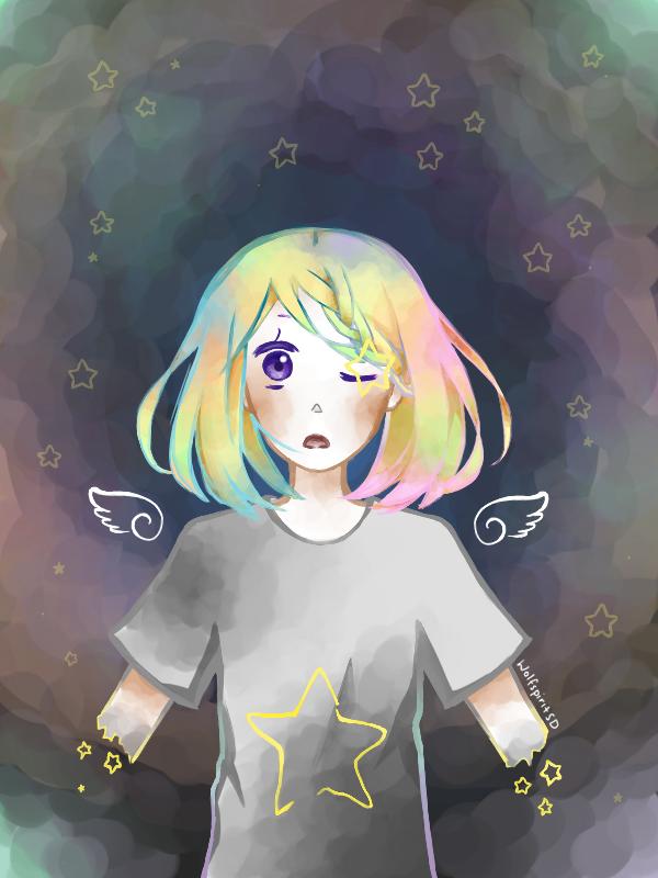 Pastel Star by wolfspiritsd