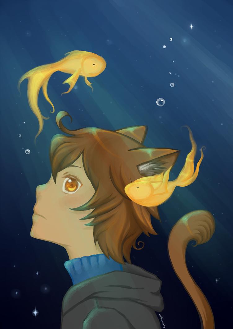 Seaing stars by wolfspiritsd