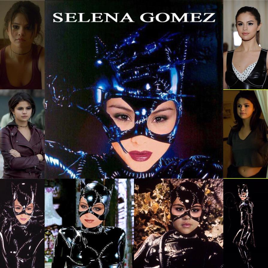 Selena Gomez As Catwoman By Batmat01 On Deviantart-1375